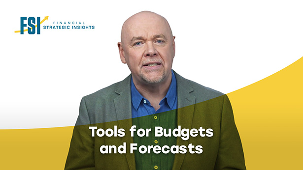 Three tools for budgets and forecasts